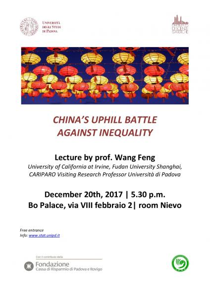 locandina wang feng's conference